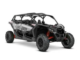2020 Can-Am™ Maverick X3 Max Turbo Hyper Sivler Can-Am Red 1