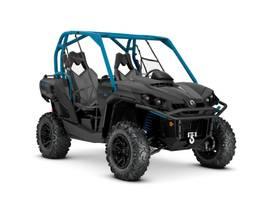 2020 Commander XT 1000R Carbon Black Octane Blue