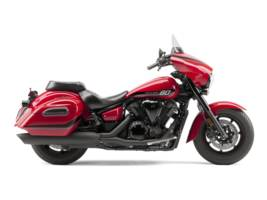 2015 V Star 1300 Deluxe Rapid Red