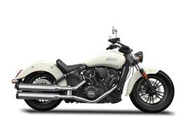 2016 Scout Sixty Pearl White