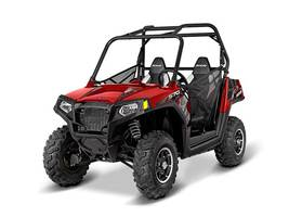 2016 RZR 570 EPS Trail Sunset Red