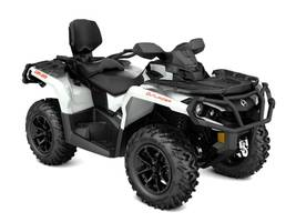 New  2017 Can-Am® Outlander MAX XT 850 Pearl White and Black ATV in Houma, Louisiana