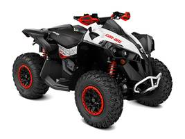 2017 Renegade X xc 1000R Black White Can-Am Red