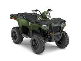 2017 Sportsman 450 H O EPS Sage Green