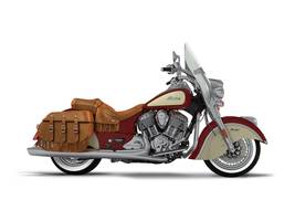 2017 Chief Vintage Indian Motorcycle Red Over Ivory Cre