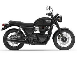 2017 Bonneville T100 Black Matte Black