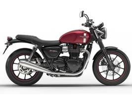 2017 Street Twin Cranberry Red