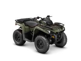 New  2018 Can-Am® Outlander 570 ATV in Houma, Louisiana