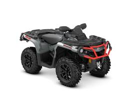 New  2018 Can-Am® Outlander XT 850 Brushed Aluminum & Can-Am Red ATV in Houma, Louisiana