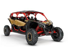 2018 Can-Am Maverick X3 MAX X rs TURBO R Gold Can-Am Red for sale 260122