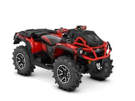 New  2018 Can-Am® Outlander X® mr 1000R Black & Can-Am Red ATV in Roseland, Louisiana