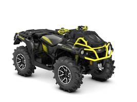 New  2018 Can-Am® Outlander X® mr 1000R Sunburst Yellow ATV in Roseland, Louisiana