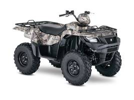 RPMWired.com car search / 2018 Suzuki KingQuad 750AXi Power Steering Camo