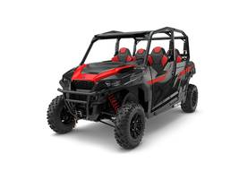 New  2018 Polaris® General 4 1000 EPS Black Pearl Golf Cart / Utility in Houma, Louisiana