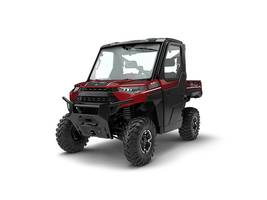 New  2018 Polaris® Ranger XP® 1000 EPS NorthStar HVAC Edition Sunset Red Metal Golf Cart / Utility in Houma, Louisiana