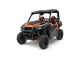 New  2018 Polaris® General 1000 EPS Deluxe Titanium Metallic Golf Cart / Utility in Roseland, Louisiana