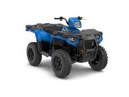 New  2018 Polaris® Sportsman® 450 H.O. EPS Velocity Blue ATV in Houma, Louisiana