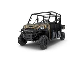 New  2018 Polaris® Ranger® Crew® XP 1000 EPS Polaris Pursuit® Camo Golf Cart / Utility in Roseland, Louisiana