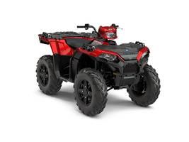 New  2018 Polaris® Sportsman® 850 SP Sunset Red ATV in Roseland, Louisiana