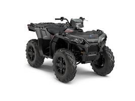 New  2018 Polaris® Sportsman® 850 SP Matte Titanium ATV in Houma, Louisiana