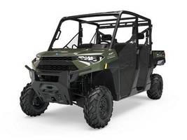 New  2019 Polaris® Ranger Crew® XP 1000 EPS Sage Green Golf Cart / Utility in Houma, Louisiana