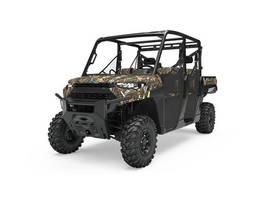 New  2019 Polaris® Ranger Crew® XP 1000 EPS Polaris Pursuit® Camo Golf Cart / Utility in Roseland, Louisiana