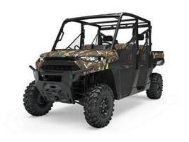 New  2019 Polaris® Ranger Crew® XP 1000 EPS Premium Polaris® Pursuit® Camo Golf Cart / Utility in Houma, Louisiana