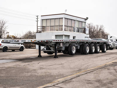Flatbed Trailers For Sale In Ontario Flat Deck Trailer Dealer