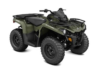 New  2019 Can-Am® Outlander 450 ATV in Houma, Louisiana