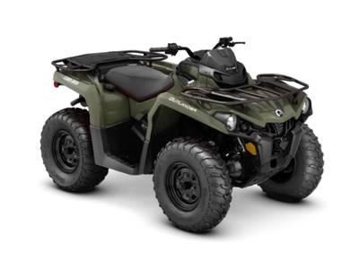 New  2019 Can-Am® Outlander 570 ATV in Houma, Louisiana