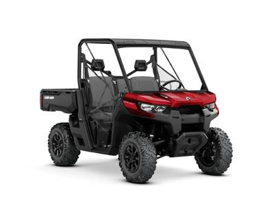 2019 Can-Am Defender DPS HD8 Intense Red for sale 96719