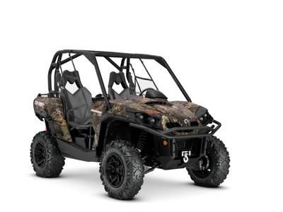 2019 Can-Am ATV Commander™ XT™ 1000R Mossy Oak Break-up Country Camo