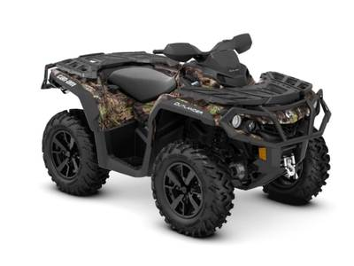 2019 Can-Am ATV Outlander™ XT™ 850 Mossy Oak Break-up Country Camo