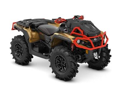 2019 Can-Am ATV Outlander™ X® mr 1000R Gold, Black & Can-Am Red