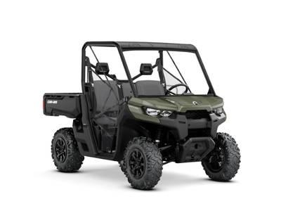 New  2019 Can-Am® Defender DPS HD10 Green Golf Cart / Utility in Houma, Louisiana