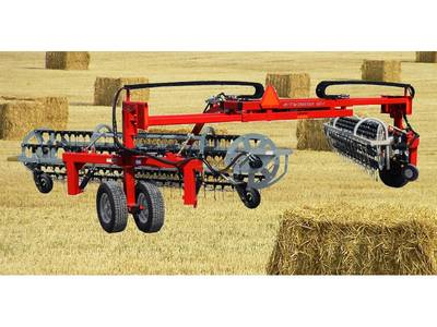 2018 Northstar Attachments Twinstar G2 Hay Rake - 7 Bar