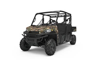 New  2019 Polaris® Ranger Crew® XP 900 EPS Polaris® Pursuit® Camo Golf Cart / Utility in Houma, Louisiana