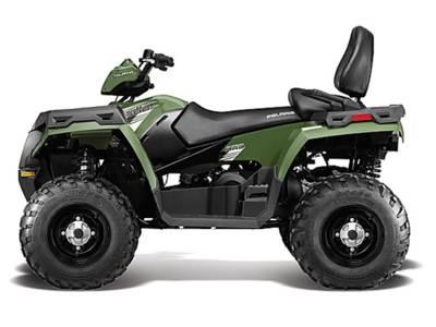 2013 Polaris® Sportsman® Touring 500 H O  Sage Green   Honda