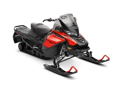 2019 Ski Doo Renegade® Enduro™ 600R E-TEC Lava Red & Black