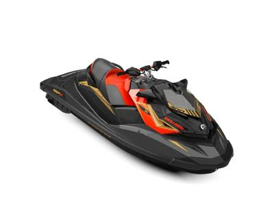 2019 Sea-Doo RXP -X 300 Black and Lava Red 1