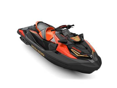 2019 SEA DOO PWC RXT® X® 300 IBR & SOUND SYSTEM ECLIPSE BLACK AND LAVA RED for sale