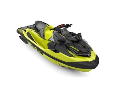 2019 SEA DOO PWC RXT® X® 300 IBR & SOUND SYSTEM NEON YELLOW AND LAVA GREY for sale
