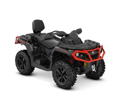 2019 Outlander MAX XT 650 Black Can-Am Red