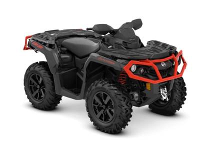 2019 Can-Am ATV Outlander™ XT™ 850 Black & Can-Am Red