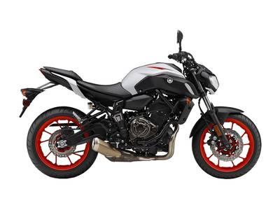 2019 Yamaha MT-07 Matte Light Gray