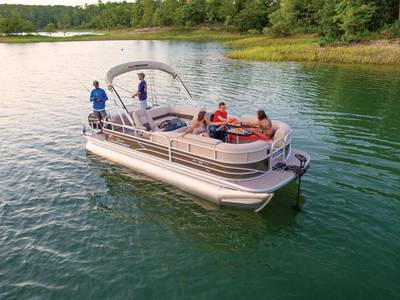 Sun Tracker Pontoon Boat Models at Gables Motorsports of Wesley