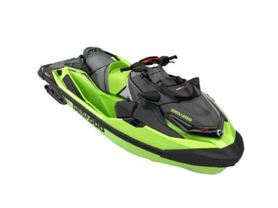 2020 SEA DOO PWC RXT® X® 300 IBR & SOUND SYSTEM CALIFORNIA GREEN AND BLACK for sale