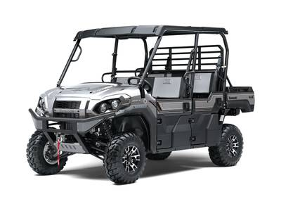 2020 Kawasaki Mule Pro-FXT Ranch Edition Metallic Phantom Silver 1