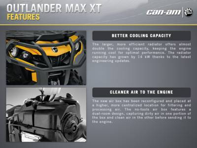 2015 Can-Am® Outlander™ MAX™ XT™ 650 | Mountain Motorsports