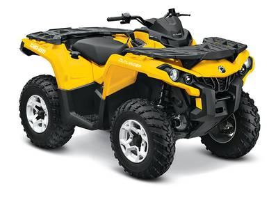 Used  2015 Can-Am® Outlander DPS® 800R ATV in Houma, Louisiana
